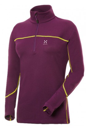 CAMISETA HAGLÖFS ACTIVES WARM Q ZIP TOP