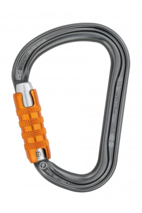 MOSQUETON PETZL WILLIAM TRIACT-LOCK